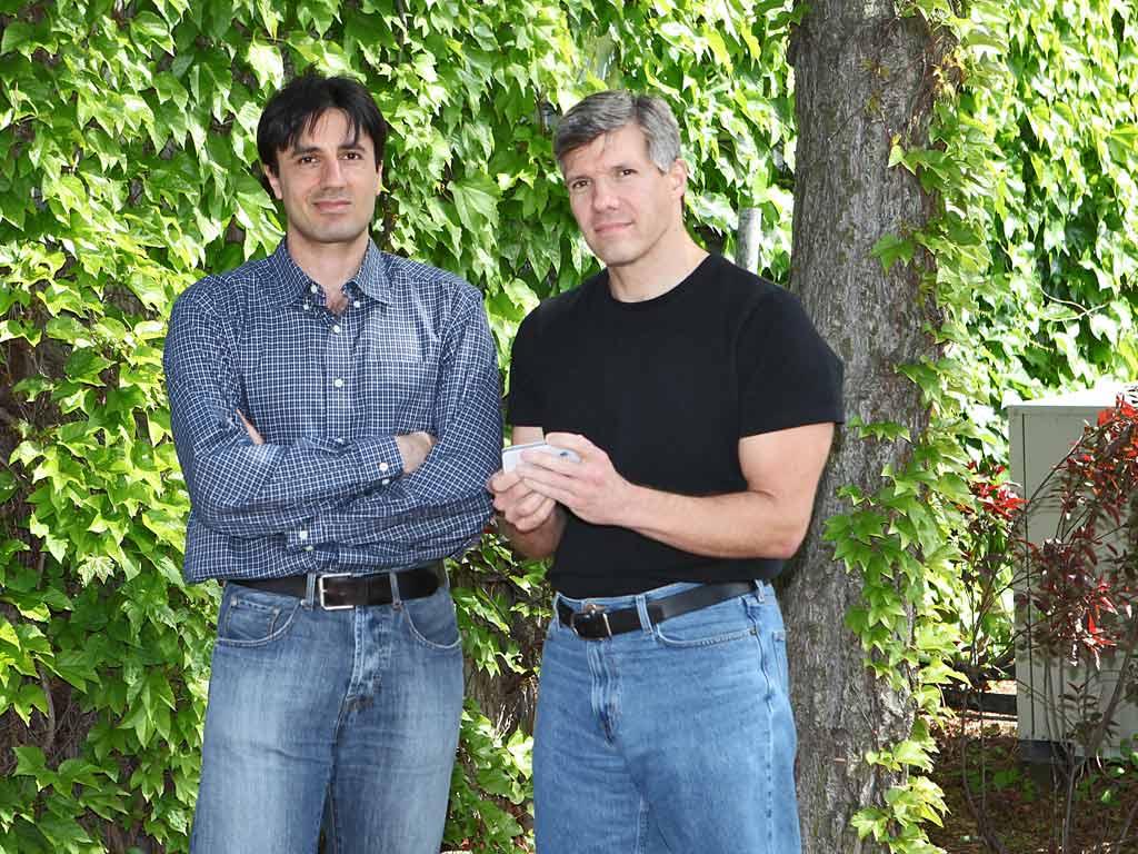Dr. Firas El-Khatib and Dr. Ed Damiano