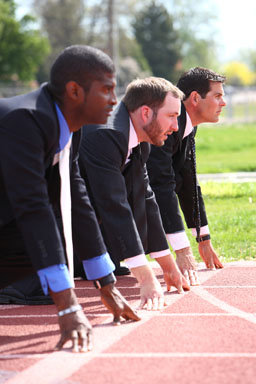 bigstock-Businessmen-lined-up-on-track--14086199_300px