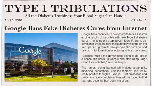 Google Bans Fake Diabetes Cures from Internet | Insulin Nation