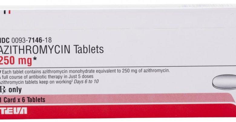 Antibiotic z-pack package